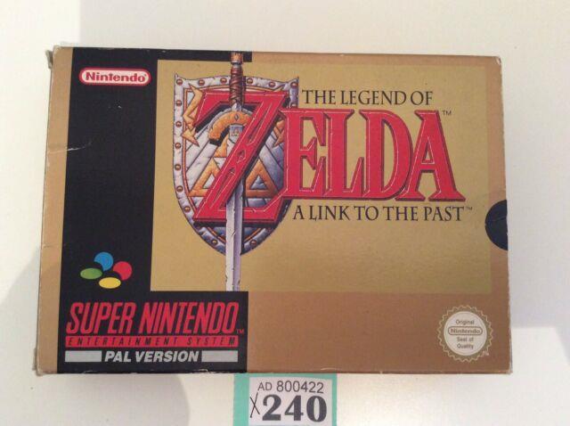 Snes Super Nintendo The Legend Of Zelda A Link To The Past