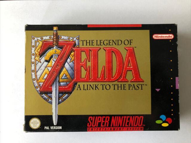 Super Nintendo Nes The Legend Of Zelda A Link To The Past (original Y Completo)