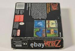 Super Nintendo SNES, The Legend of Zelda A Link to the Past, OVP, CIB