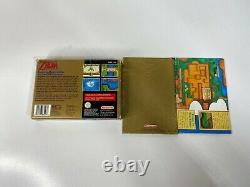 Super Nintendo Snes Game The Legend Of Zelda A Link To The Past Cib Pal