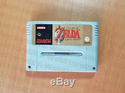 Super Nintendo The Legend Of Zelda A Link To The Past Pal Snes 16bit Complete