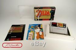 Super Nintendo The Legend of Zelda A Link to the Past SNES OVP, Anleit, Karte