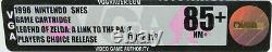 Super Nintendo The Legend of Zelda A Link to the Past SNES VGA 85+ NM+