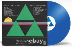 Switched On A Link to the Past Extended Legend of Zelda Blue Vinyl Record NEW
