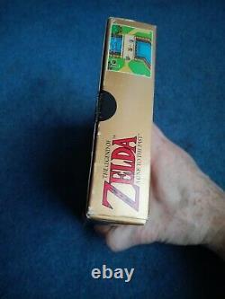 THE LEGEND OF ZELDA A LINK TO THE PAST Super Nintendo SNES PAL Complete