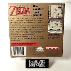 THE LEGEND OF ZELDA LINK'S AWAKENING Cib Nintendo GAME BOY CAN Canadian RARE