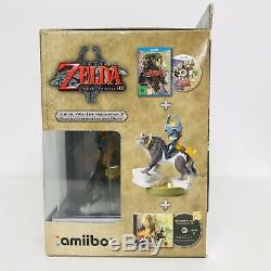 THE LEGEND OF ZELDA TWILIGHT PRINCESS HD LIMITED EDITION Wii U Wolf Link AMIIBO