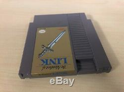 The Adventure of Link Complete Nintendo NES CIB Legend of Zelda II 2 Original