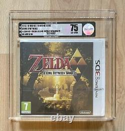 The Legend Of Zelda A Link Between Worlds 3DS VGA 75 EX+ NM RARE Sealed Graded