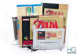 The Legend Of Zelda A Link To The Past Boxed Super Nintendo SNES PAL
