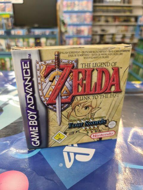 The Legend Of Zelda A Link To The Past + Four Swords Game Boy Advance. Gba