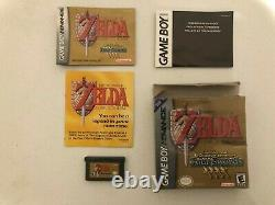 The Legend Of Zelda A Link To The Past (Four Swords) Gameboy Advance GBA CIB
