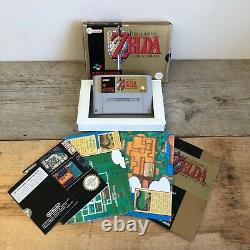 The Legend Of Zelda A Link To The Past Nintendo SNES PAL Version FULLY COMPLETE