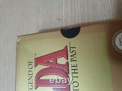 The Legend Of Zelda A Link To The Past SNES. CIB, Half Sealed PAL UKV