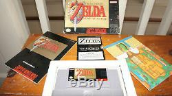 The Legend Of Zelda A Link To The Past SNES Complete in box Super Nintendo CIB