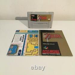 The Legend Of Zelda A Link To The Past SNES / Super Nintendo PAL Boxed