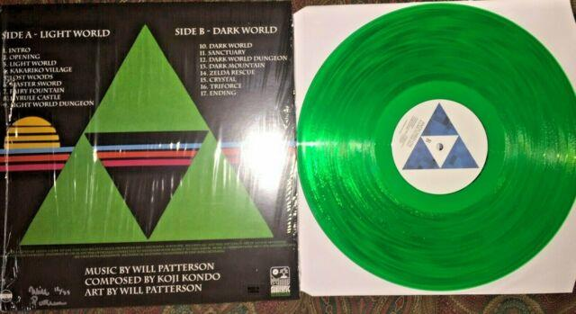 The Legend Of Zelda A Link To The Past Snes Vgm Signed Green Ruby Vinyl #12/35