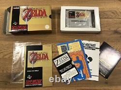 The Legend Of Zelda A Link To The Past Super Nintendo SNES
