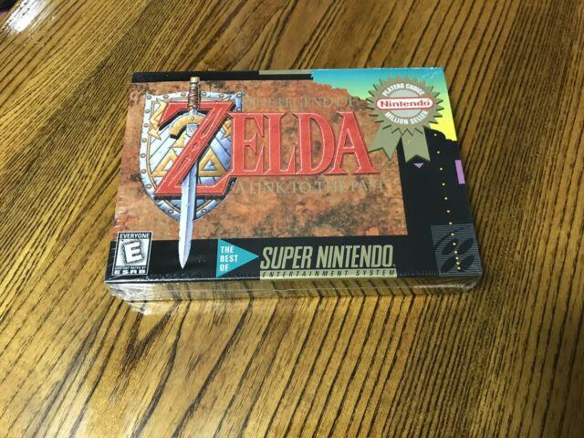 The Legend Of Zelda A Link To The Past (super Nintendo Snes) Brand New & Sealed
