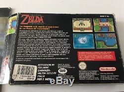 The Legend Of Zelda A Link To The Past Super Nintendo/Snes ITA GIG Con Libretto
