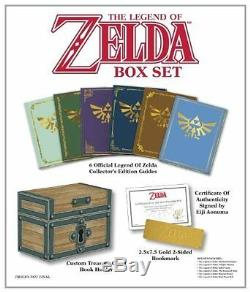 The Legend Of Zelda Box Set Prima Official Game Guide Hardcover, Books NEW