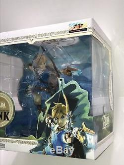 The Legend Of Zelda Breath Of The Wild 10 PVC Painted Statue Link