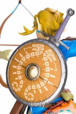 The Legend Of Zelda Breath Of The Wild Link First 4 Figures New