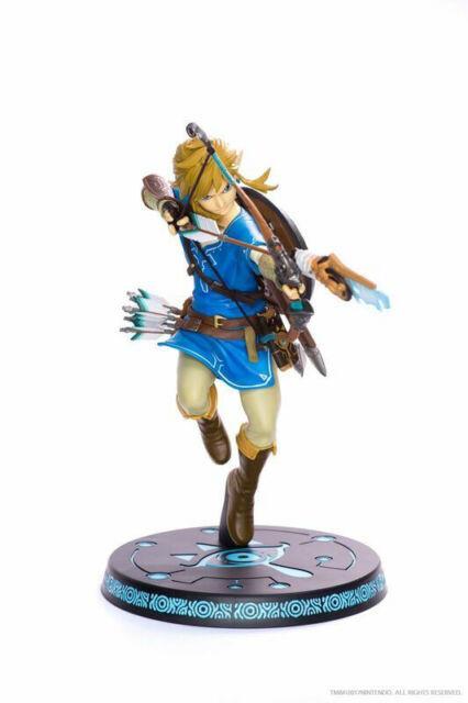 The Legend Of Zelda Breath Of The Wild Link Pvc Figure First4figures