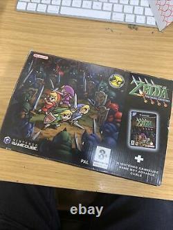 The Legend Of Zelda Four Swords Adventures UK PAL Nintendo Gamecube RARE Link
