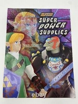 The Legend Of Zelda Jakks Tomy Action Figure & Magazine Lot Ganon Zelda Link