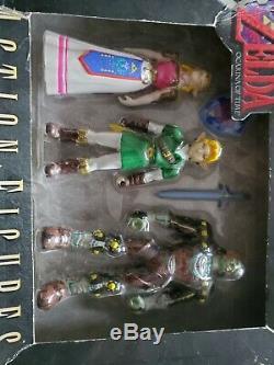 The Legend Of Zelda Link Ganon N64 Nintendo 64 1998 Figure Box Set Sealed New