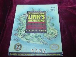 The Legend Of Zelda Link's Awakening Game Boy Player's Guide 1993