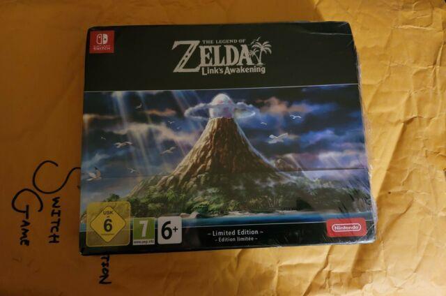 The Legend Of Zelda Link's Awakening Limited Edition Nintendo Switch Brand New