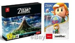 The Legend Of Zelda Link's Awakening Limited Edition Switch + Amiibo New Sealed