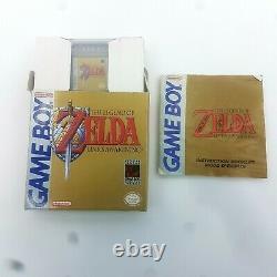 The Legend Of Zelda Link's Awakening Nintendo Game Boy 1993 Complete Cib