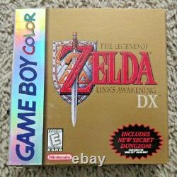 The Legend Of Zelda Links Awakening DX Game Boy Color Authentic Box Only