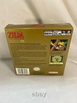 The Legend Of Zelda Links Awakening DX Game Boy Color Complete Mint Rare