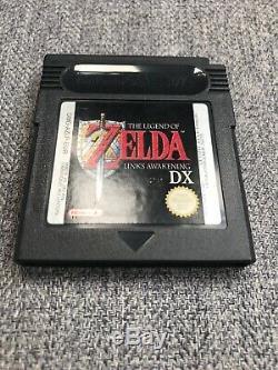 The Legend Of Zelda Links Awakening DX Gameboy Colour Boxed Mint Collectors