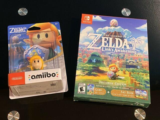 The Legend Of Zelda Links Awakening Dreamer Edition + Amiibo, New, Free Ship