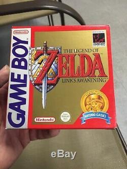 The Legend Of Zelda Links Awakening Gameboy PAL Scandinavia Rare! US SELLER