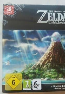 The Legend Of Zelda Links Awakening Limited Edition (New) Nintendo Switch