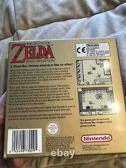 The Legend Of Zelda Links Awakening Nintendo Gameboy Game Complete In Box Mint