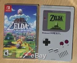 The Legend Of Zelda Links Awakening & SteelBook Nintendo Switch Import