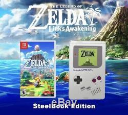 The Legend Of Zelda Links Awakening Steel Book Edition (switch) Pre-Order