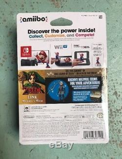 The Legend Of Zelda Majoras Mask Link Amiibo U. S. Version Brand New Nintendo
