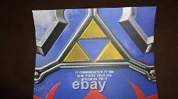 The Legend Of Zelda Nintendo Store NY Link Statue Unveiling Poster Very Rare