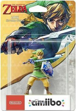 The Legend Of Zelda Skyward Sword Link Amiibo Nintendo US Version Brand NEW