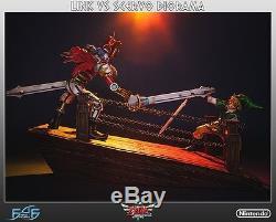 The Legend Of Zelda Skyward Sword Link Vs Scervo First 4 Figure Diorama F4F