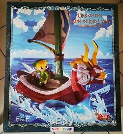 The Legend Of Zelda Wind Waker Link On The King Of Red Lions Exclusive Zero Hour