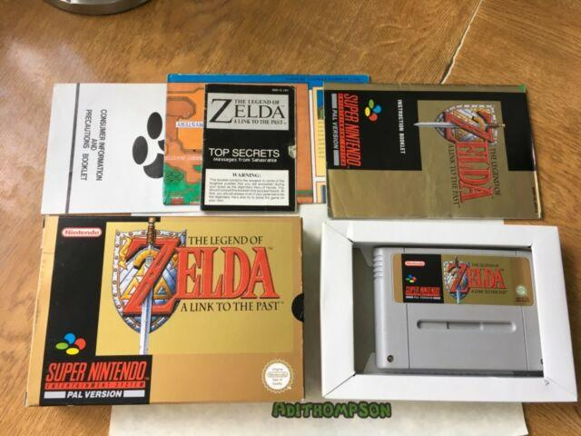 The Legend Of Zelda A Link To The Past Snes Super Nintendo Boxed Complete